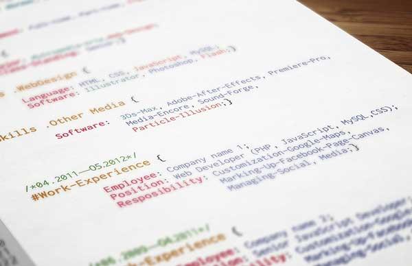 程序员的简历怎么写?才能拥有一份看得出实力的简历!