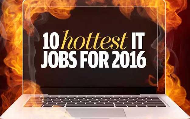 2016年10个最热门 IT 职业岗位
