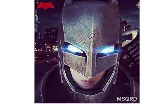 秒杀美图秀秀! 扎克伯格刚收购的3D变脸MSQRD真是太酷了