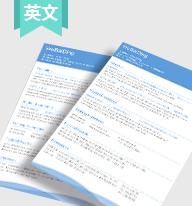 YW0001英文简历模板
