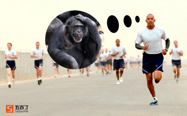 跑步的时间用来思考