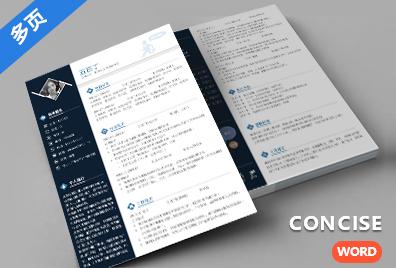 DY0002通用多页简历模板